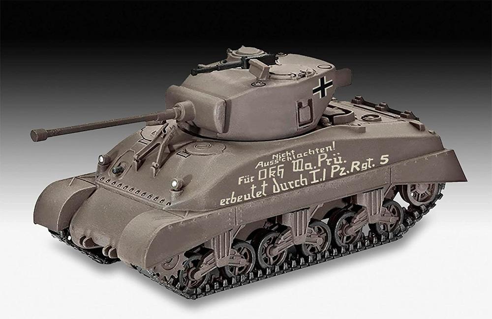 シャーマン M4A1プラモデル(レベル1/72 ミリタリーNo.03290)商品画像_2