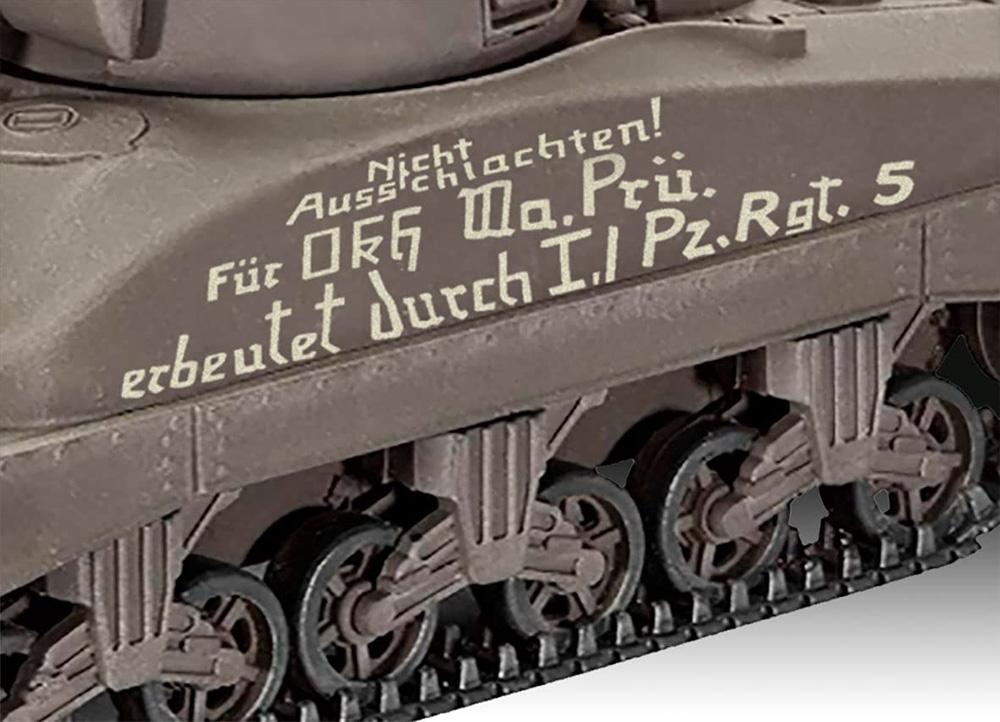 シャーマン M4A1プラモデル(レベル1/72 ミリタリーNo.03290)商品画像_4