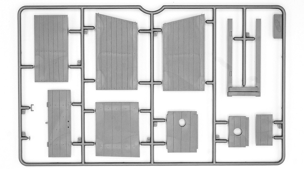 野営トイレプラモデル(ICM1/35 ミリタリービークル・フィギュアNo.35800)商品画像_1