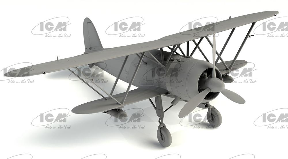 フィアット CR.42AS WW2 イタリア 戦闘爆撃機プラモデル(ICM1/32 エアクラフトNo.32023)商品画像_2