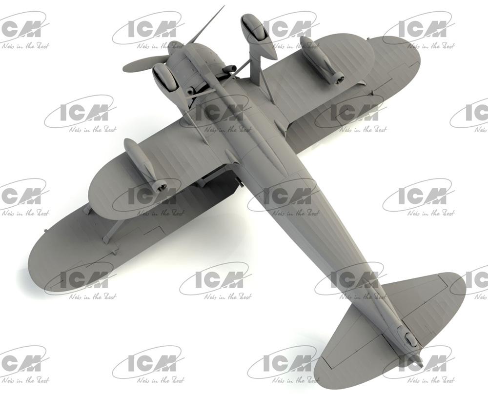 フィアット CR.42AS WW2 イタリア 戦闘爆撃機プラモデル(ICM1/32 エアクラフトNo.32023)商品画像_3