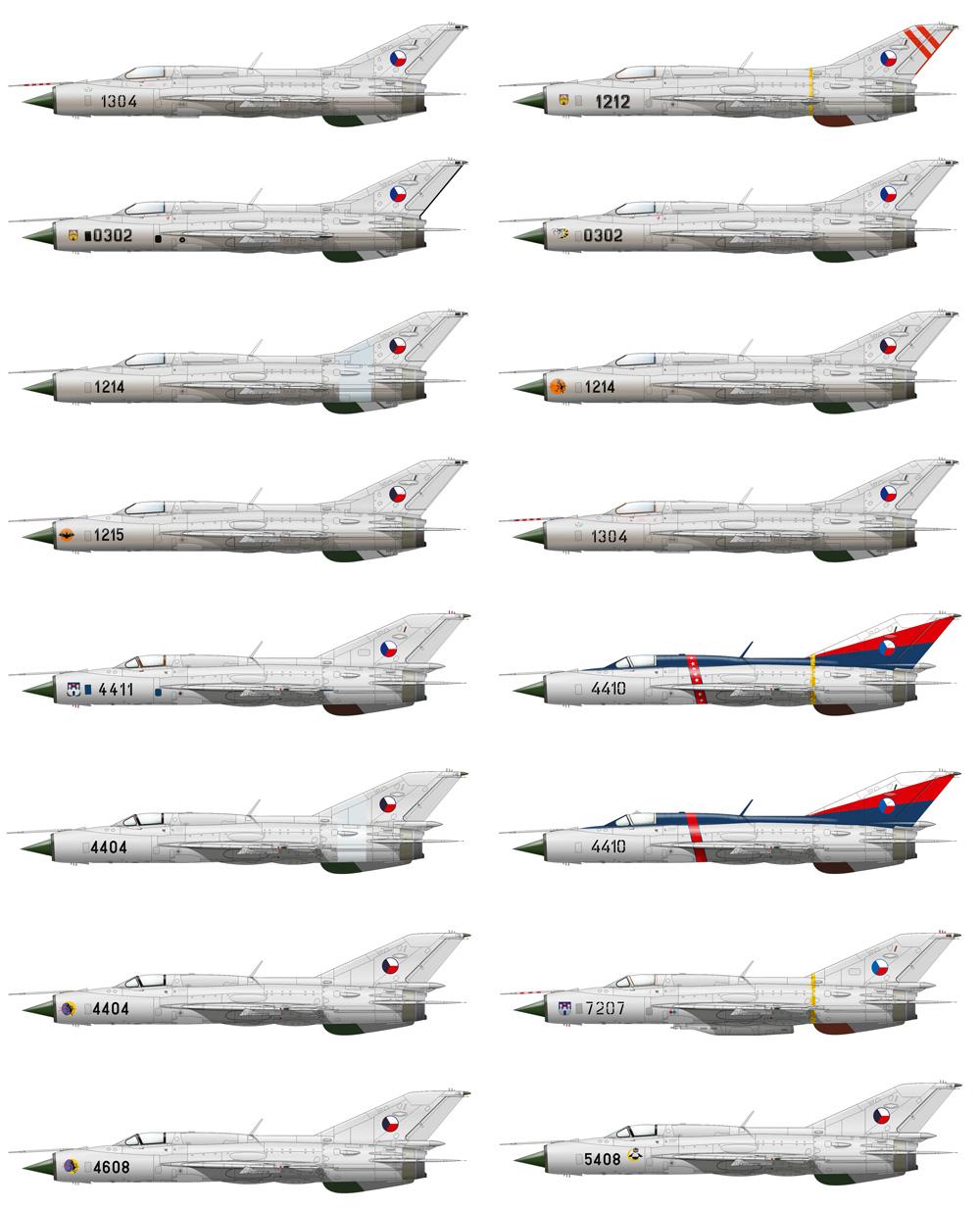 シルバーアロー MiG-21PF/PFM デュアルコンボプラモデル(エデュアルド1/72 リミテッド エディションNo.2134)商品画像_4