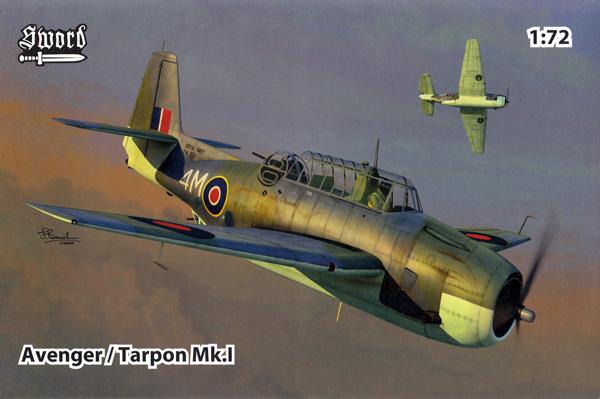 アベンジャー / ターポン Mk.1プラモデル(ソード1/72 エアクラフト プラモデルNo.SW72137)商品画像
