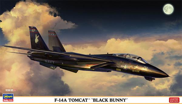 F-14A トムキャット ブラックバニープラモデル(ハセガワ1/72 飛行機 限定生産No.02377)商品画像
