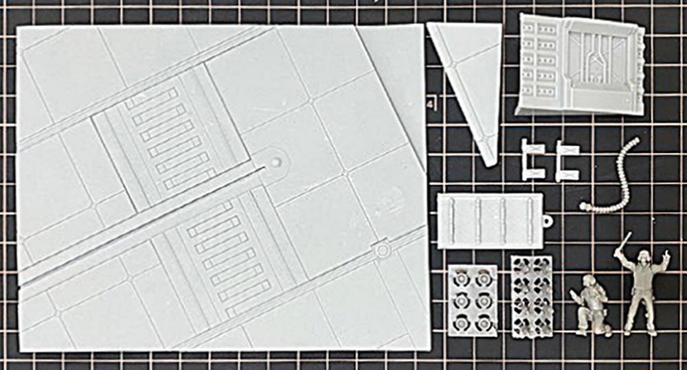 宇宙空母 フライトデッキ ジオラマセットレジン(トリファクトリーDAシリーズNo.DA-001)商品画像_1