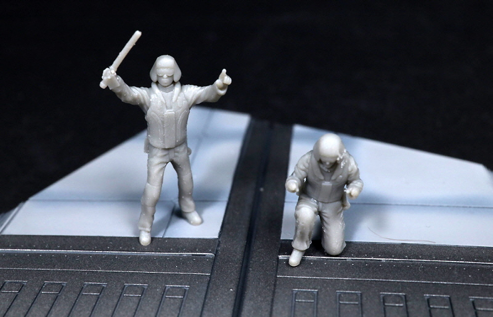 宇宙空母 フライトデッキ ジオラマセットレジン(トリファクトリーDAシリーズNo.DA-001)商品画像_3