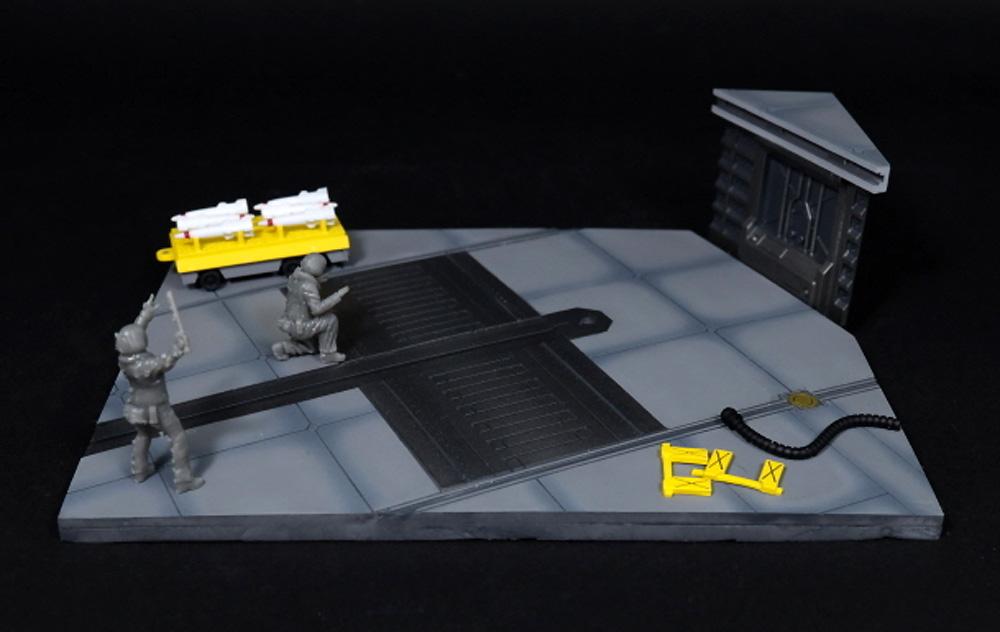 宇宙空母 フライトデッキ ジオラマセットレジン(トリファクトリーDAシリーズNo.DA-001)商品画像_4