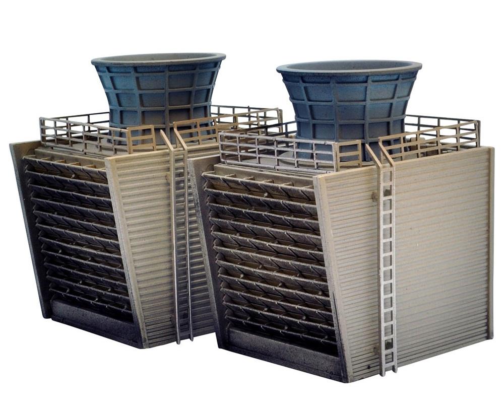 戦禍のコンビナート C 冷却塔プラモデル(トミーテックジオコレ コンバットNo.DCM010)商品画像_1