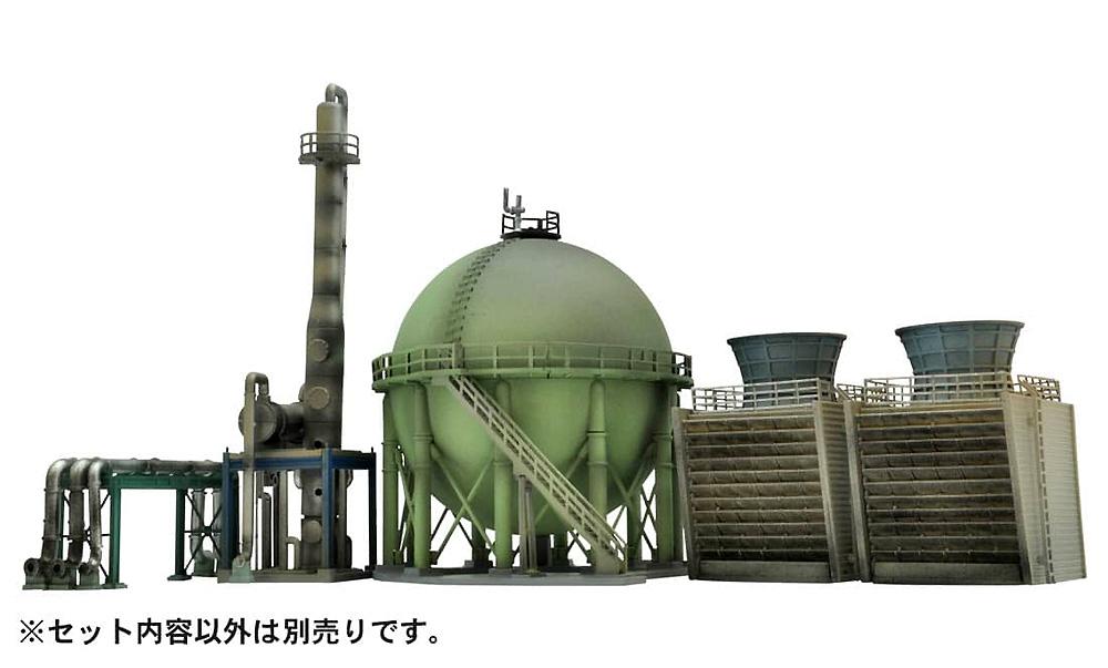 戦禍のコンビナート C 冷却塔プラモデル(トミーテックジオコレ コンバットNo.DCM010)商品画像_3