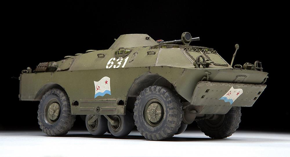 BRDM-2 ソビエト偵察戦闘車プラモデル(ズベズダ1/35 ミリタリーNo.3638)商品画像_2