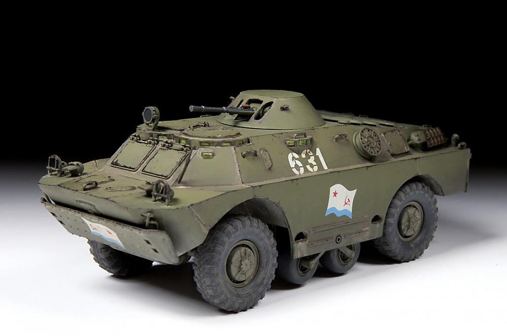 BRDM-2 ソビエト偵察戦闘車プラモデル(ズベズダ1/35 ミリタリーNo.3638)商品画像_3