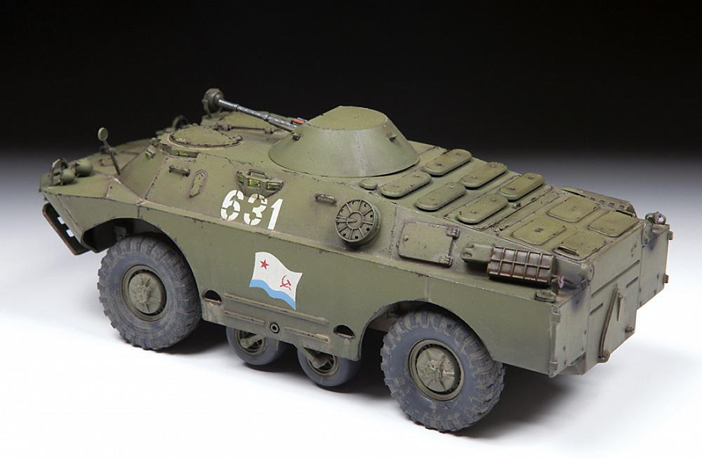 BRDM-2 ソビエト偵察戦闘車プラモデル(ズベズダ1/35 ミリタリーNo.3638)商品画像_4
