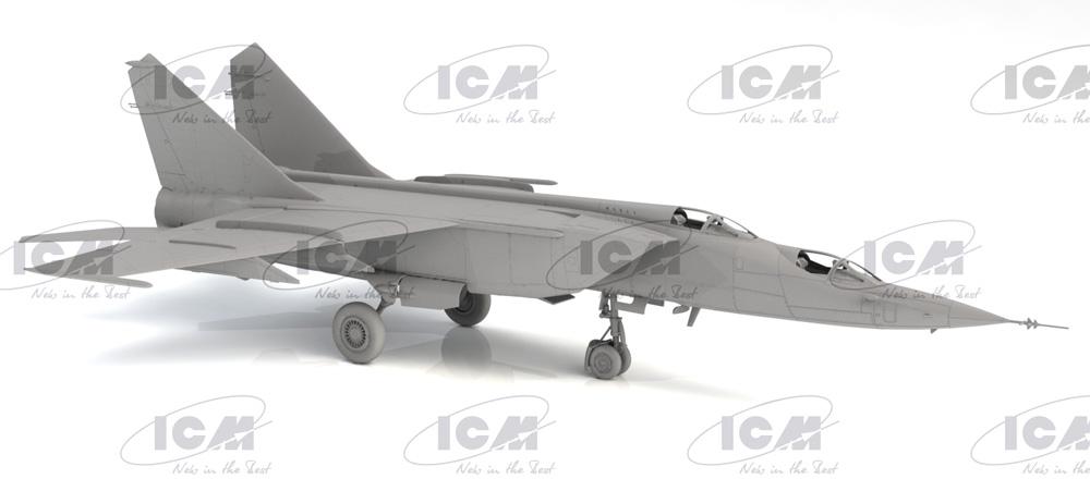 MiG-25PUプラモデル(ICM1/72 エアクラフト プラモデルNo.72178)商品画像_2