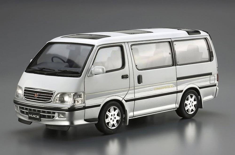 トヨタ KZH100G ハイエース スーパーカスタムG '99プラモデル(アオシマ1/24 ザ・モデルカーNo.133)商品画像_2