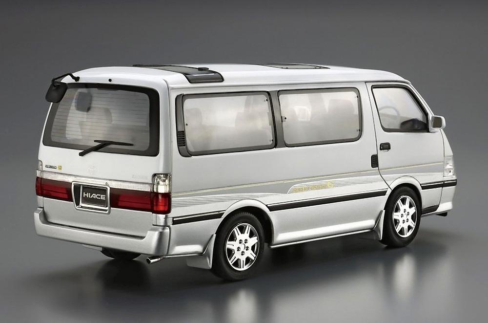 トヨタ KZH100G ハイエース スーパーカスタムG '99プラモデル(アオシマ1/24 ザ・モデルカーNo.133)商品画像_3