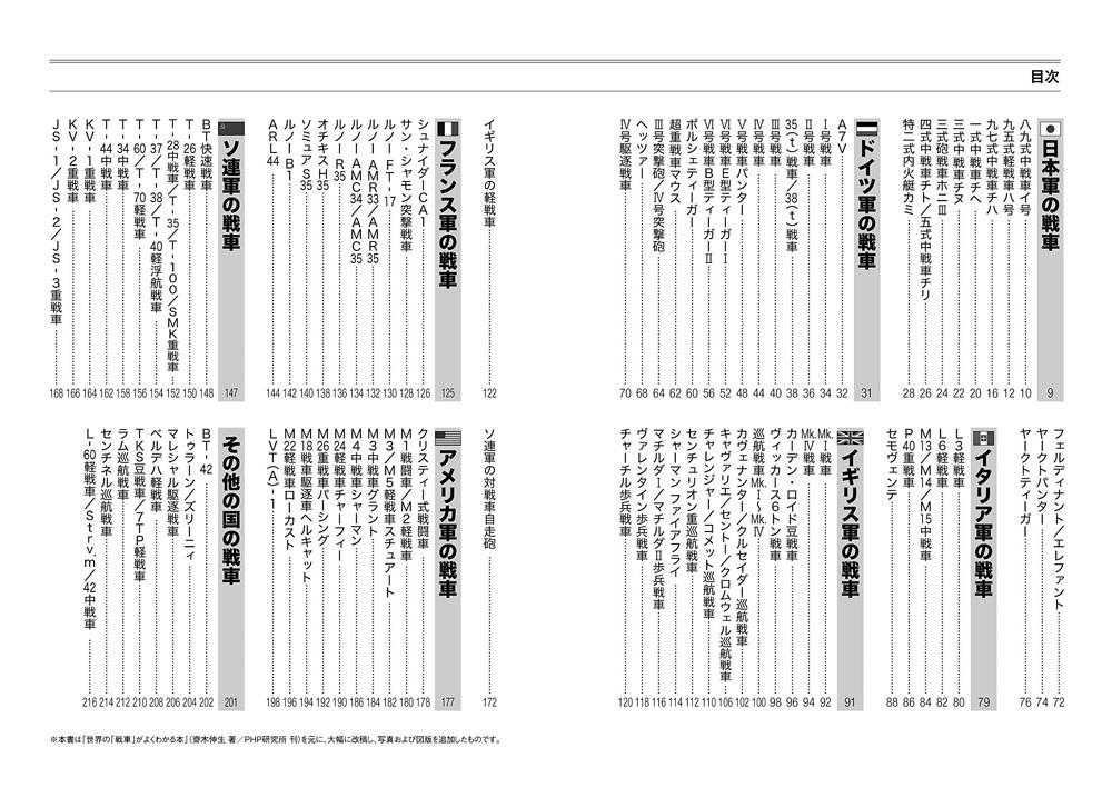 日本と世界の戦車が3行でわかる本 第一次・第二次大戦 編本(イカロス出版ミリタリー関連 (軍用機/戦車/艦船)No.0991-5)商品画像_1
