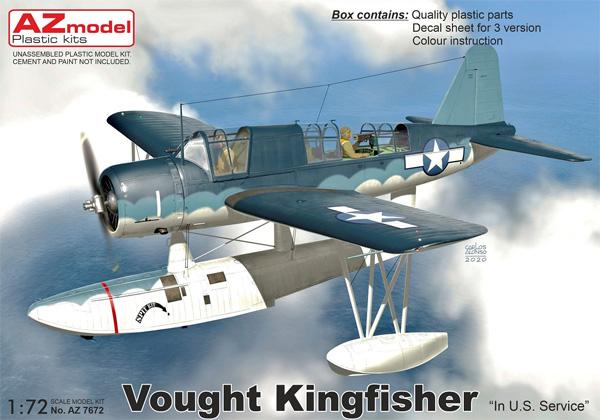 ヴォート キングフィッシャー アメリカ仕様プラモデル(AZ model1/72 エアクラフト プラモデルNo.AZ7672)商品画像