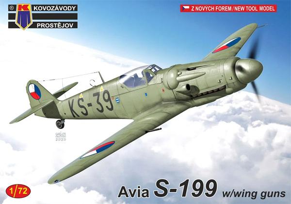 アビア S-199 主翼内機銃武装型プラモデル(KPモデル1/72 エアクラフト プラモデルNo.KPM0218)商品画像