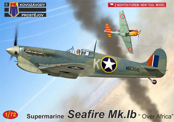 スーパーマリン シーファイア Mk.1b アフリカ上空プラモデル(KPモデル1/72 エアクラフト プラモデルNo.KPM0241)商品画像