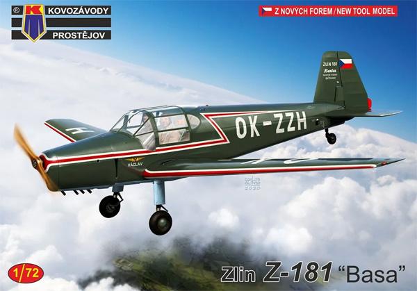ズリン Z-181 バサ 民間機プラモデル(KPモデル1/72 エアクラフト プラモデルNo.KPM0229)商品画像
