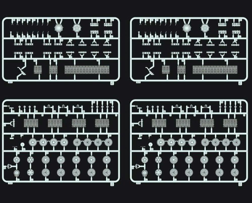 ドイツ キングタイガー ヘンシェル砲塔プラモデル(フライホーク1/72 AFVNo.FH3019)商品画像_3