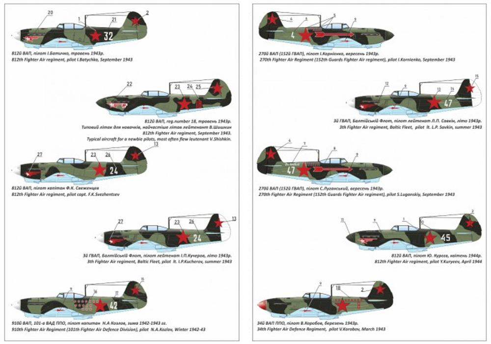 ヤコヴレフ Yak-1b 緑・黒迷彩プラモデル(ARMORY1/144 エアクラフトNo.AR14310)商品画像_3