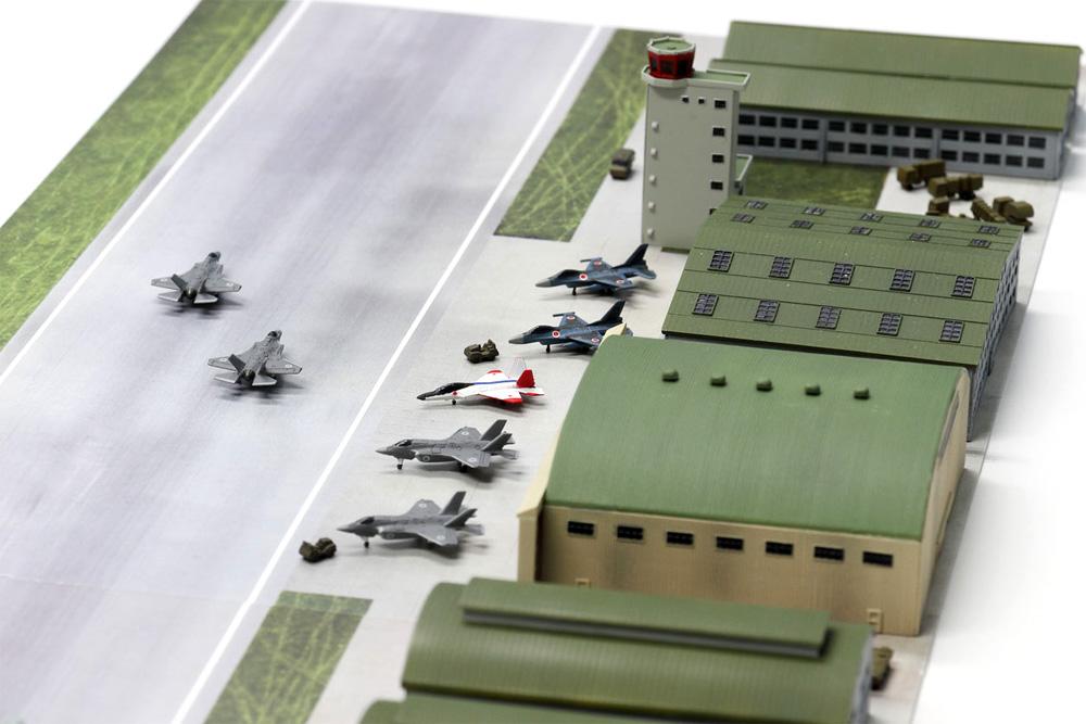 航空自衛隊基地 2プラモデル(ピットロードスカイウェーブ S シリーズ (定番外)No.SPS016)商品画像_4