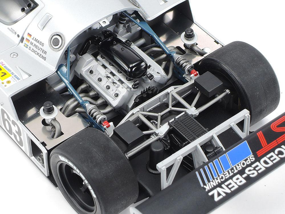 1989 ザウバー メルセデス C9プラモデル(タミヤ1/24 スポーツカーシリーズNo.359)商品画像_4