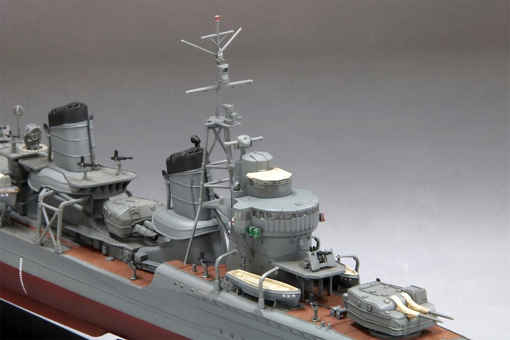 帝国海軍 駆逐艦 潮プラモデル(ファインモールド1/350 艦船シリーズNo.FW003)商品画像_4