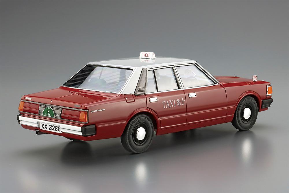 ダットサン 220C '79 香港的士プラモデル(アオシマ1/24 ザ・モデルカーNo.SP001)商品画像_3