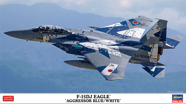 F-15DJ イーグル アグレッサー ブルー/ホワイトプラモデル(ハセガワ1/72 飛行機 限定生産No.02379)商品画像