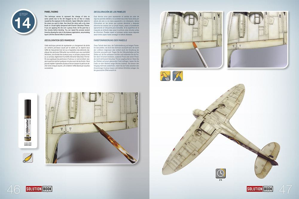 HOW TO PAINT WW2 RAF Early Aircraft本(アモSolution Book (ソリューション ブック)No.A.MIG-6522)商品画像_2