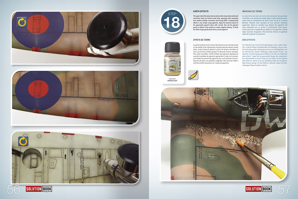 HOW TO PAINT WW2 RAF Early Aircraft本(アモSolution Book (ソリューション ブック)No.A.MIG-6522)商品画像_3