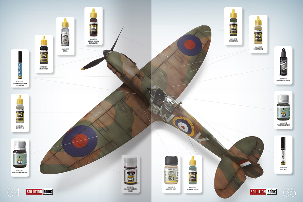 HOW TO PAINT WW2 RAF Early Aircraft本(アモSolution Book (ソリューション ブック)No.A.MIG-6522)商品画像_4