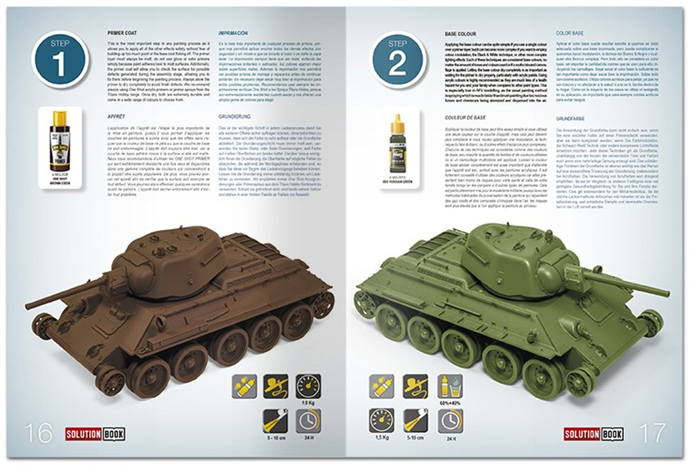 HOW TO PAINT 4BO GREEN VEHICLES本(アモSolution Book (ソリューション ブック)No.A.MIG-6600)商品画像_1