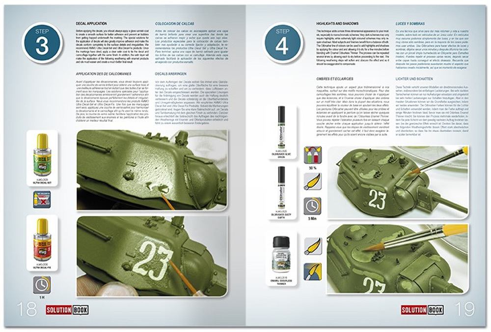 HOW TO PAINT 4BO GREEN VEHICLES本(アモSolution Book (ソリューション ブック)No.A.MIG-6600)商品画像_2