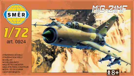 MiG-21MF 戦闘機プラモデル(スメール1/72 エアクラフト プラモデルNo.0924)商品画像