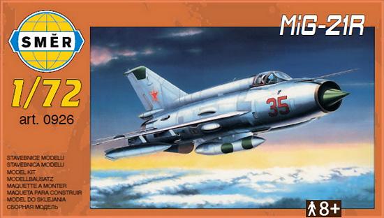 MiG-21R 偵察機プラモデル(スメール1/72 エアクラフト プラモデルNo.0926)商品画像