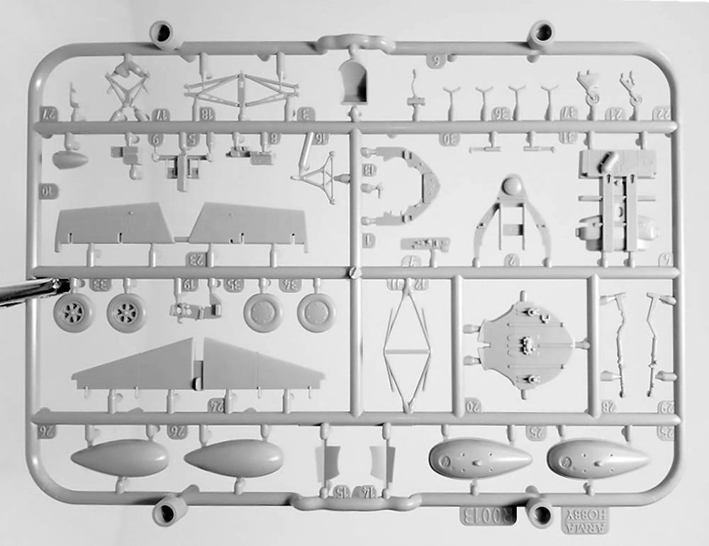 FM-2 ワイルドキャット トレーニングキャッツ リミテッドエディションプラモデル(アルマホビー1/72 エアクラフト プラモデルNo.70034)商品画像_3