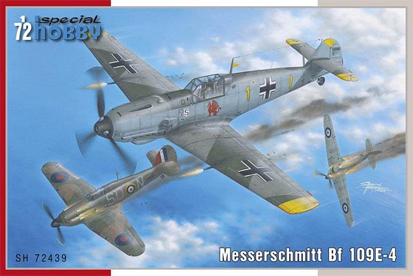 メッサーシュミット Bf109E-4プラモデル(スペシャルホビー1/72 エアクラフト プラモデルNo.SH72439)商品画像
