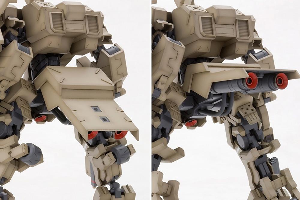四八式一型 輝鎚・甲:RE2プラモデル(コトブキヤフレームアームズ (FRAME ARMS)No.014)商品画像_4