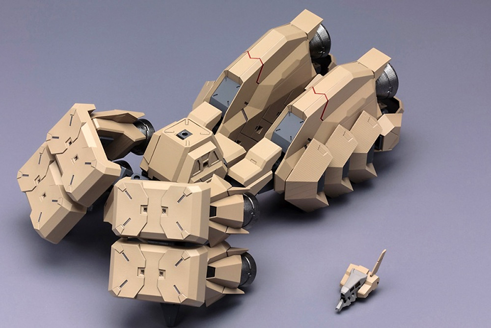 エクステンドアームズ 05 (四八式一型 輝鎚・甲 拡張ブースター) :RE2プラモデル(コトブキヤフレームアームズ (FRAME ARMS)No.026)商品画像_1