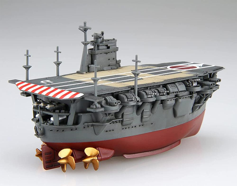ちび丸艦隊 飛龍 特別仕様 ミッドウェー海戦仕様限定デカール&シール付属プラモデル(フジミちび丸艦隊 シリーズNo.ちび丸027EX-002)商品画像_4