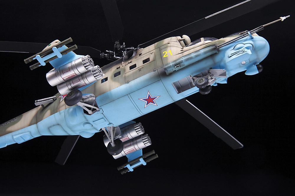 MIL Mi-24P ハインド ソビエト 攻撃ヘリコプタープラモデル(ズベズダ1/48 ミリタリーエアクラフト プラモデルNo.4812)商品画像_3