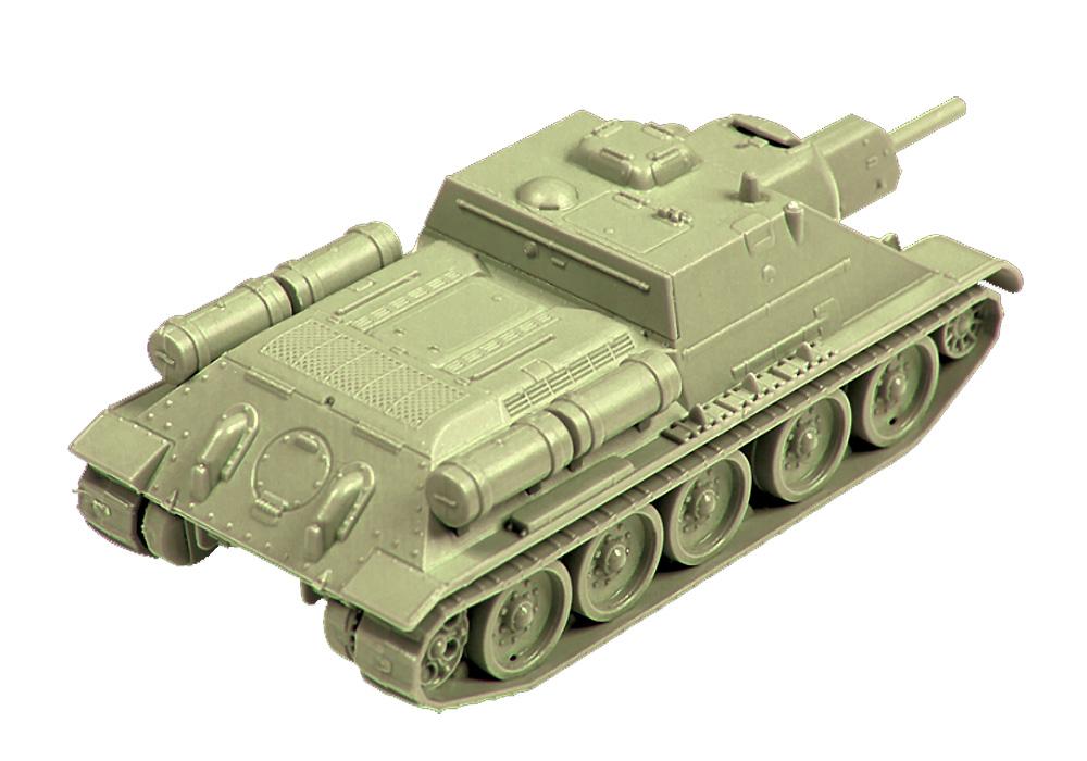 ソビエト 自走砲 SU-122プラモデル(ズベズダART OF TACTICNo.6281)商品画像_2