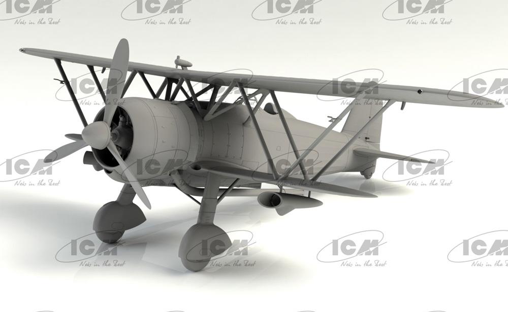 フィアット CR.42CN WW2 イタリア 夜間戦闘機プラモデル(ICM1/32 エアクラフトNo.32024)商品画像_2