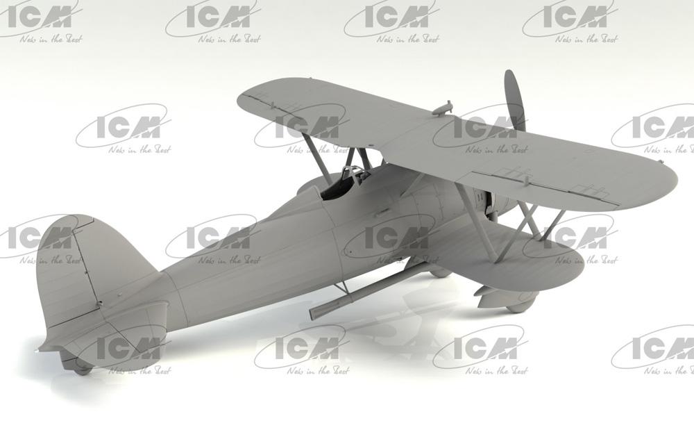 フィアット CR.42CN WW2 イタリア 夜間戦闘機プラモデル(ICM1/32 エアクラフトNo.32024)商品画像_3