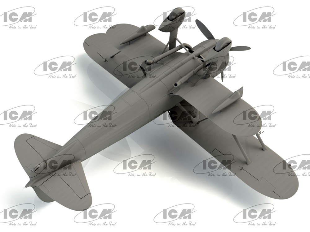 フィアット CR.42CN WW2 イタリア 夜間戦闘機プラモデル(ICM1/32 エアクラフトNo.32024)商品画像_4