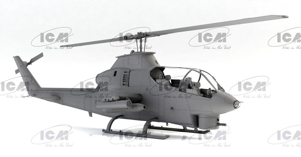 AH-1G コブラ 初期型 アメリカ 攻撃ヘリコプタープラモデル(ICM1/32 エアクラフトNo.32060)商品画像_2