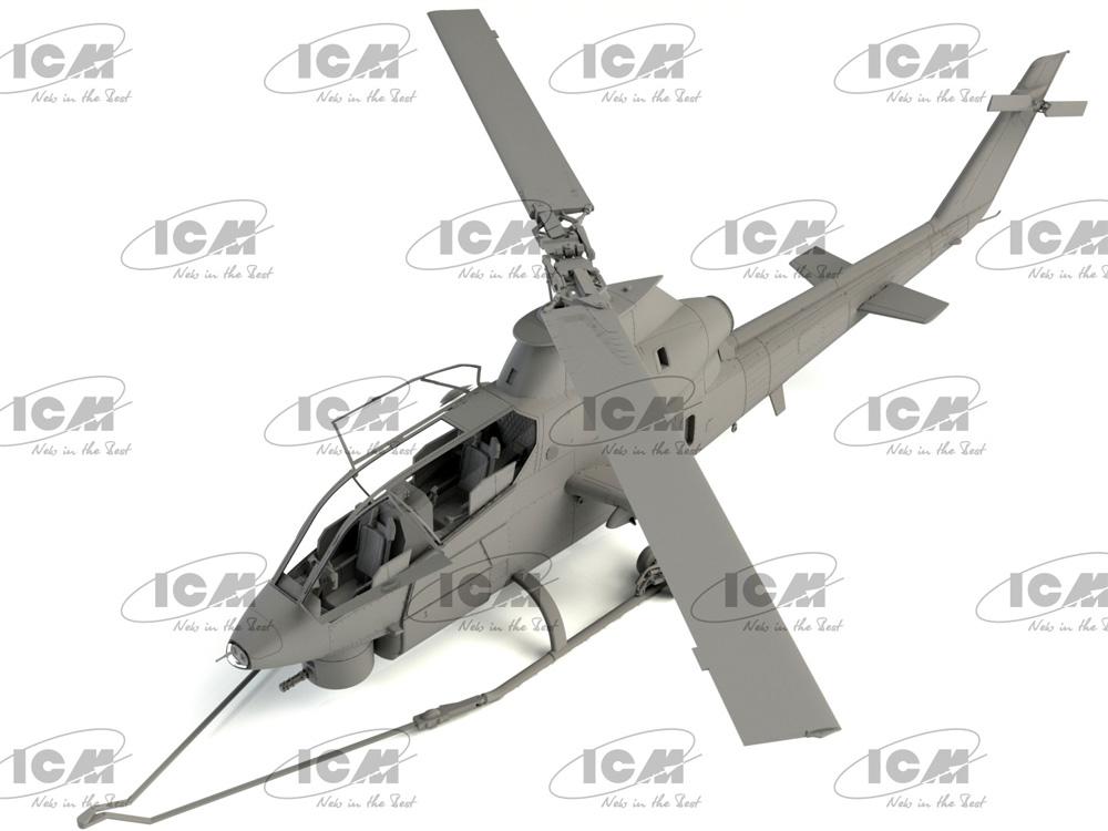 AH-1G コブラ 初期型 アメリカ 攻撃ヘリコプタープラモデル(ICM1/32 エアクラフトNo.32060)商品画像_3